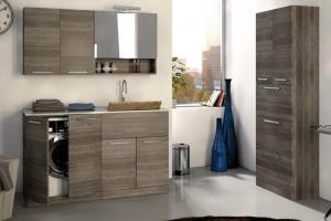 Soluzioni salvaspazio in lavanderia: i mobili a scomparsa