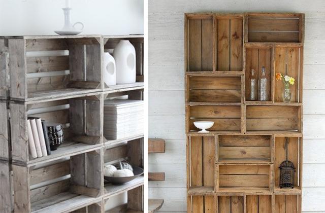 Cassette di frutta in legno home design e ispirazione mobili for E design della casa