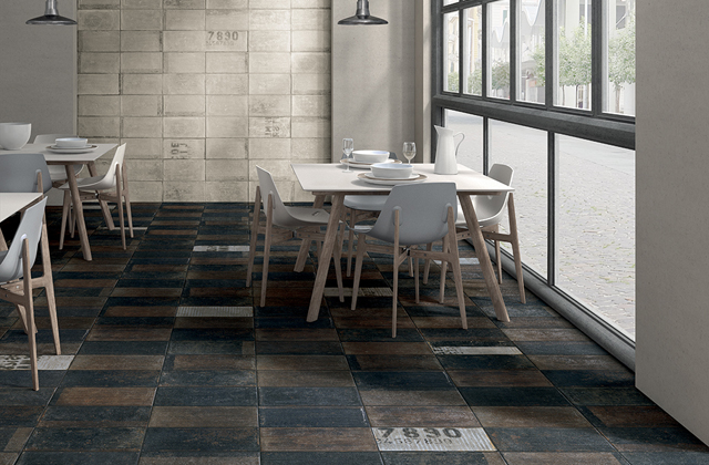pavimenti dal look urbano gres porcellanato in stile industriale pagina 3 di 3. Black Bedroom Furniture Sets. Home Design Ideas