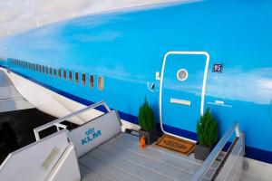 Un jet in disuso trasformato in hotel di lusso