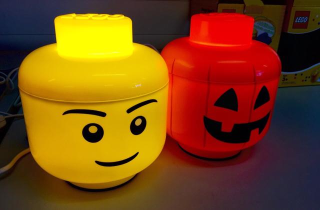lampada lego storage box