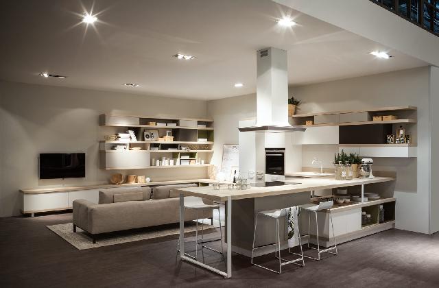 Arredare l 39 open space con linee sobrie e funzionali - Progettare un soggiorno ...