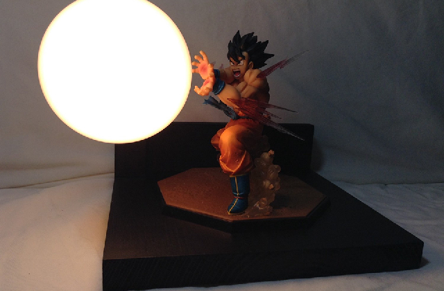 lampada dragon ball