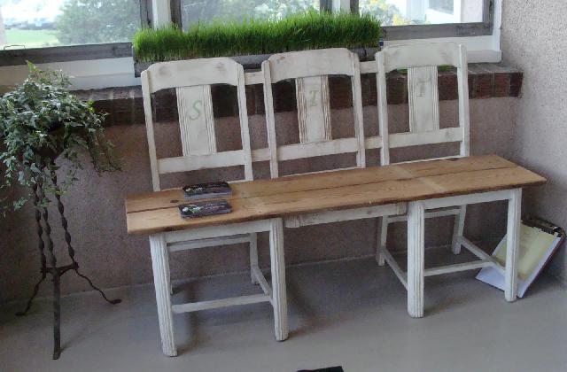 Come realizzare una panchina fai da te con materiali riciclati pagina 2 di 3 - Panchine da giardino fai da te ...