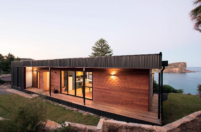 La prima casa prefabbricata che genera energia for Casa ecosostenibile prefabbricata