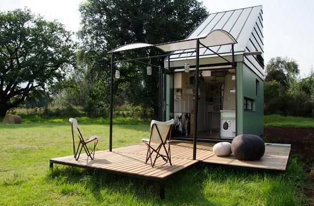 Una mini casa di 17 mq, ma completa di tutto