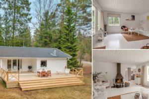 Un sogno divenuto realtà: vivere in una casa nel bosco