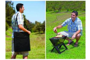 Il barbecue portatile per un picnic ovunque voi siate