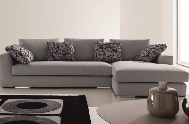 divano con penisola moderno