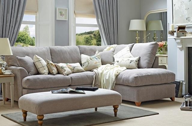 Come e quando opportuno scegliere un divano ad angolo - Divano al centro della stanza ...
