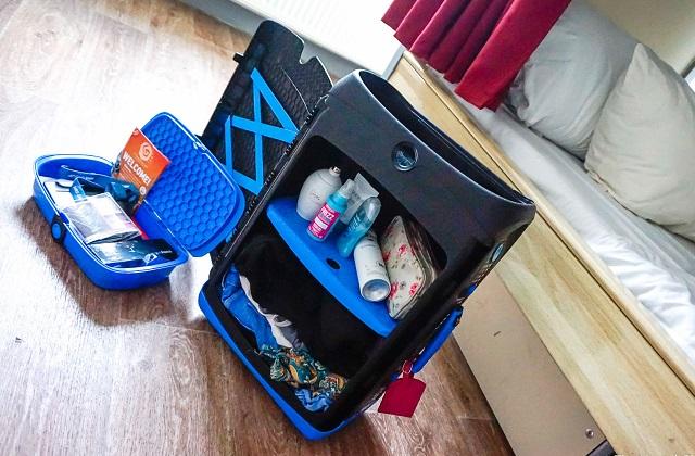 Jurni, la valigia perfetta per chi ama l'ordine anche in viaggio