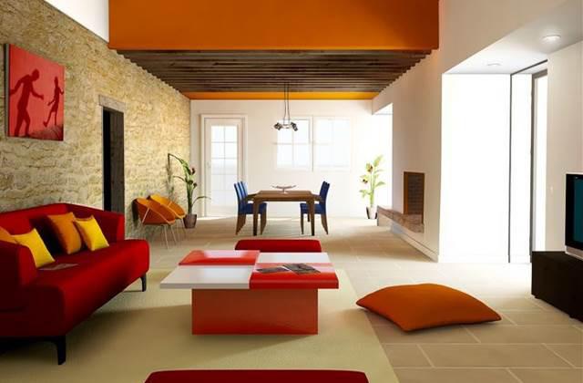 Idee originali per arredare con l 39 arancione pagina 3 di 3 for Idee per l arredamento della casa