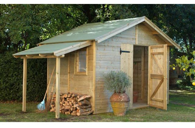 Casetta con giardino muggia idee per il design della casa - Casetta in legno da giardino bianca ...