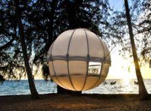 Cocoon tree: la tenda appesa ad un albero
