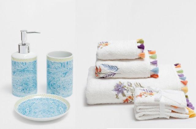 Arredare la casa con le nuove proposte di zara home 2017 - Zara home bagno ...