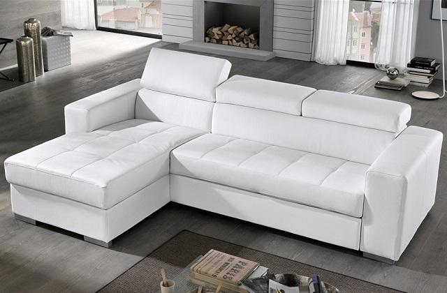 Consiglio d'arredo: scegliere un divano letto con penisola