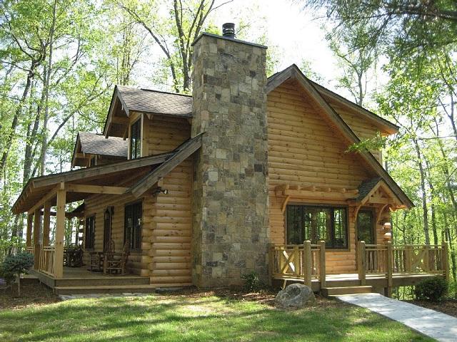 Le block house: case realizzate con tronchi di legno