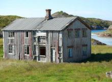 casa su isola in Norvegia
