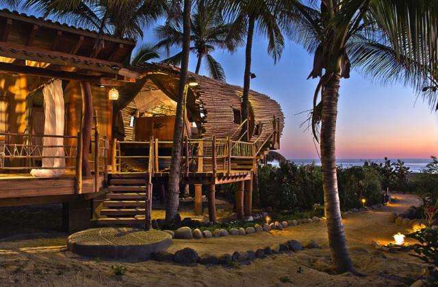 casa in bambù