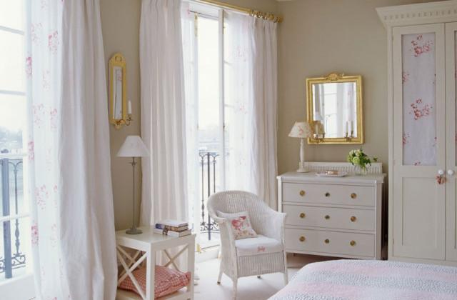 Come arredare in modo romantico la vostra camera da letto - Camera stile romantico ...