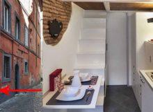La casa più piccola d'Italia misura solo 7 metri quadrati