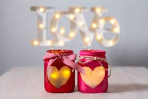 Decorazioni per la festa di San Valentino per creare un'atmosfera davvero romantica
