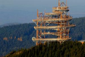 Camminare sul tetto del mondo con il Dolni Morava Sky Walk