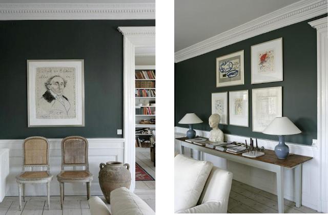 colore tendenza casa verde-ner
