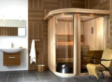 bagno turco con doccia