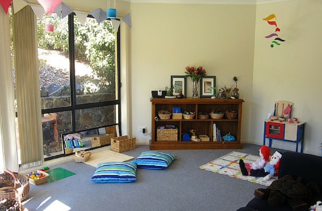 spazio gioco bambini in salone
