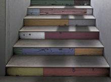 cambiare il colore agli scalini di casa