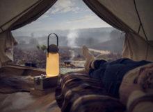 GuideLight per un camping di design