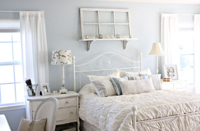 Come arredare la camera da letto in stile shabby chic - Camera da letto country chic ...