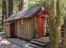tiny house sull'albero in California