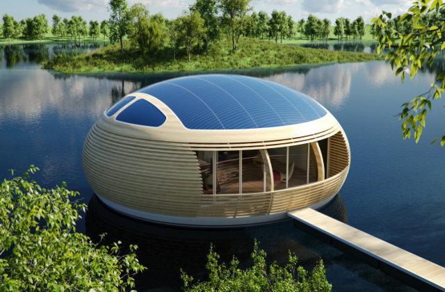 la casa galleggiante green