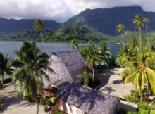 isola in Polinesia casa privata
