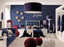 arredare la casa con il tessuto jeans