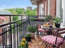 piccolo balcone per ospiti