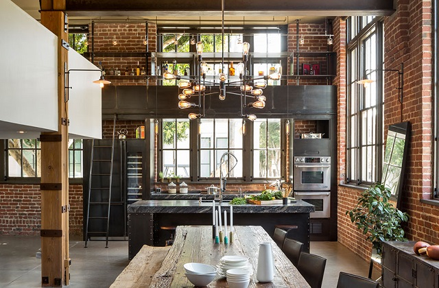 La tua casa cambia arredamento industrial chic for Costruisci la tua casa in california