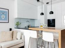 cucine bianco e legno