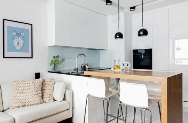 Cucine bianco e legno che non passeranno mai di moda