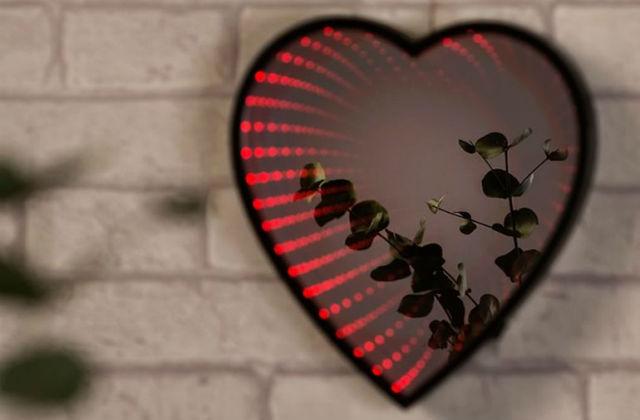 specchio cuore