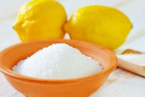 Usi casalinghi dell'acido citrico
