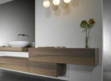 mobili del bagno monoblocco sospesi
