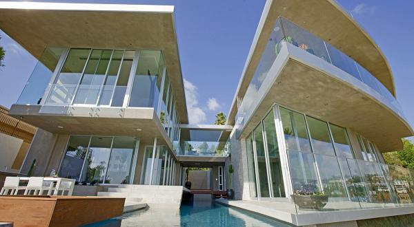 Design moderno per la villa di Avicii a Hollywood