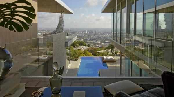 Questa la vista su Los Angeles, niente male eh?