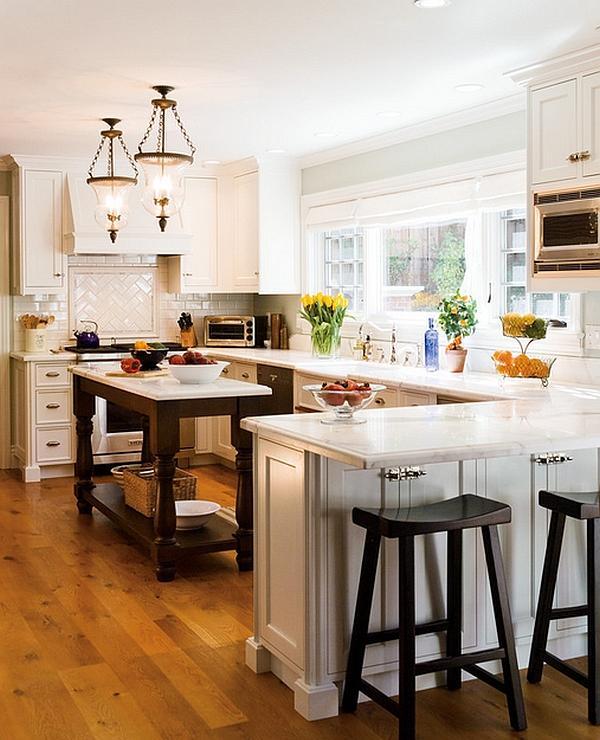 Cucina di classe e dallo stile tradizionale