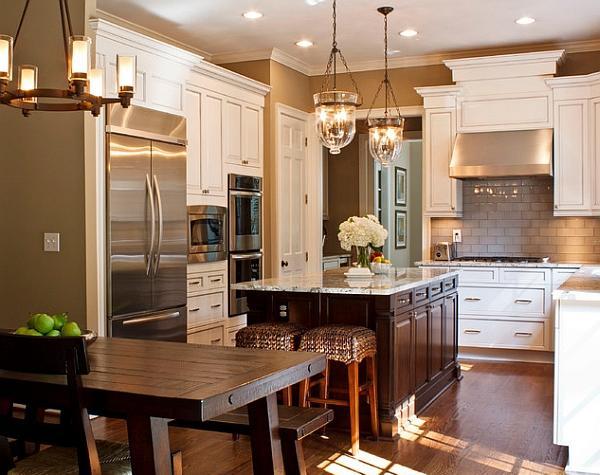 Un attenta progettazione dei mobili gioca un ruolo importante nelle cucine tradizionali