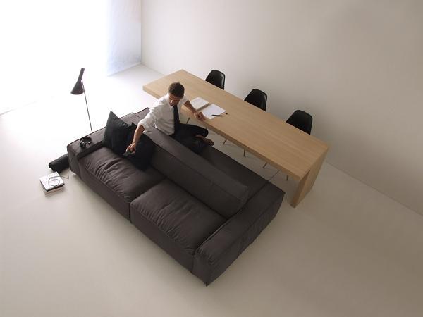 Soluzione ideale per lavorare e rilassarsi