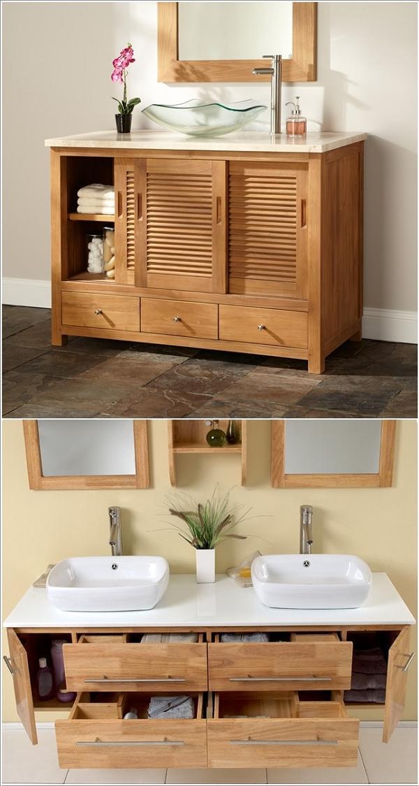 Mobiletti in legno dalla massima praticità